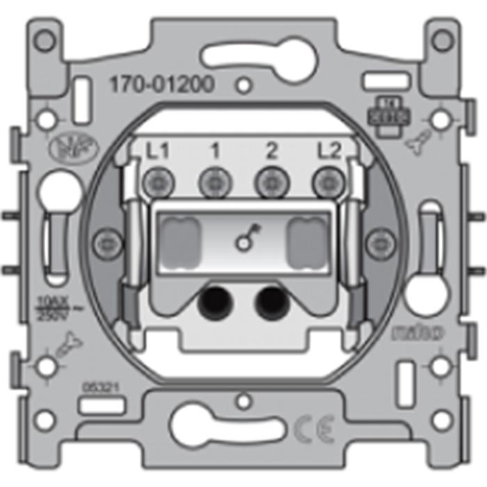 Elektro Dupont - Ausschalter zweipolig - 10A