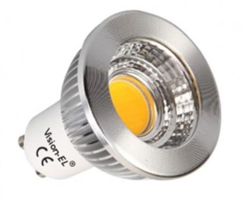 LED GU10  5W 4000K  230V AC  75 ° 440 lm dimmable