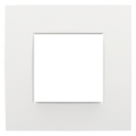 Plaque de recouvrement simple - intense white