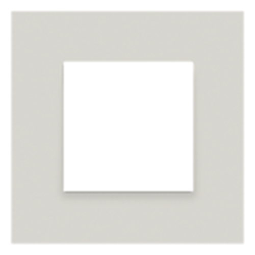 Plaque de recouvrement simple - natural soft grey